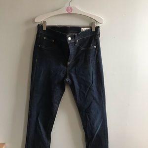 Rag & Bone high rise skinny jeans 27